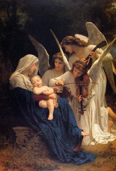 Le Symbolisme Chrétien - 19 eme siècle - Angleterre ( Images) JesusBirth